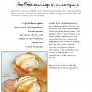 Geroosterde peren met vlierbloesemsiroop en mascarpone-page-001