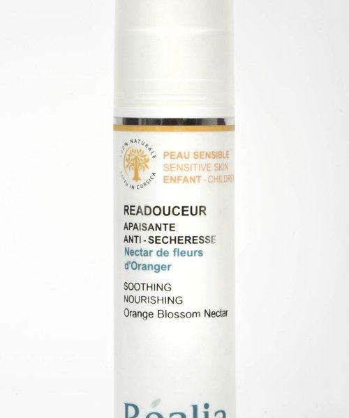 realia-readouceur oranjebloesem verzachtende bodylotion voor droge huid
